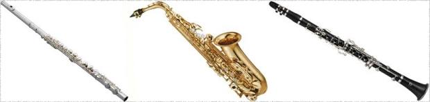 flutesax-clarinet